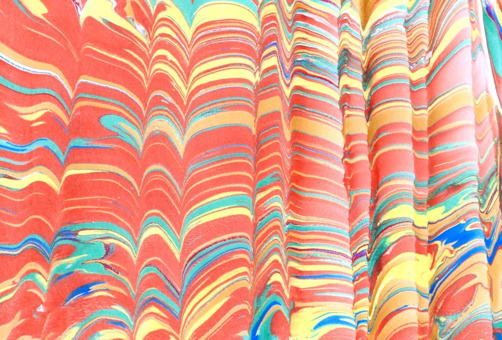 미술과 만남 마블링의 실제적인 테크닉 Daum 카페